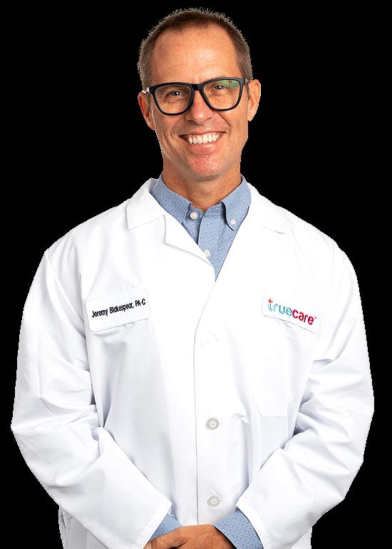 Jeremy Blakespear TrueCare Primary Care Provider headshot