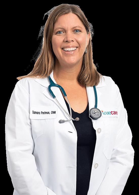 Tamara Perlman TrueCare Womens Health Provider tiro en la cabeza