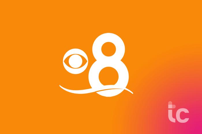 logotipo de noticias de cbs 8