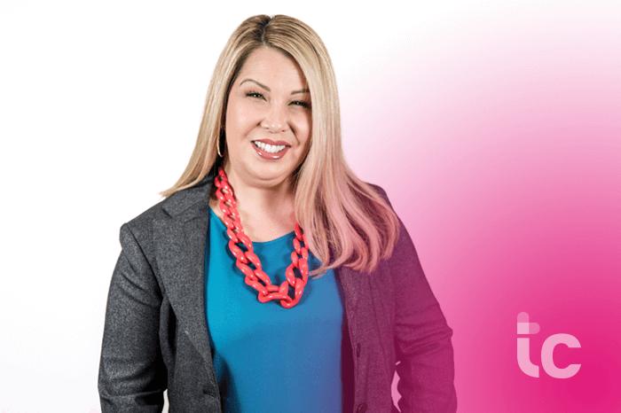 Foto de la mujer de negocios Michelle D Gonzalez CEO / Presidenta de TrueCare
