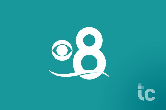 cbs 8 news logo