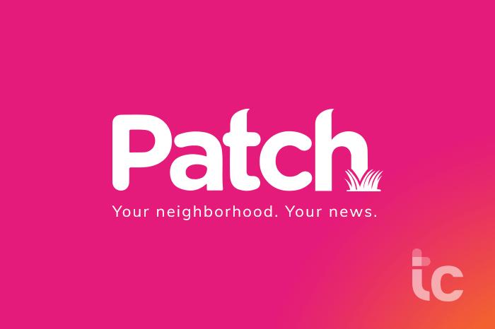 parchear su vecindario. sus noticias. Logo