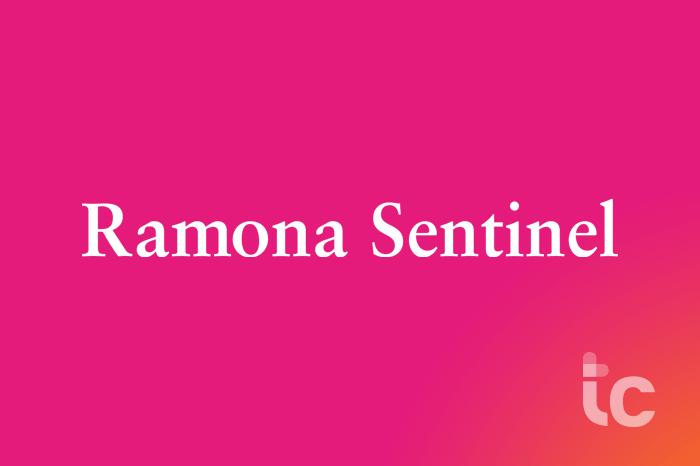 Ramona Sentinel logo
