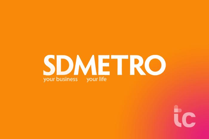 Logotipo de metro SD