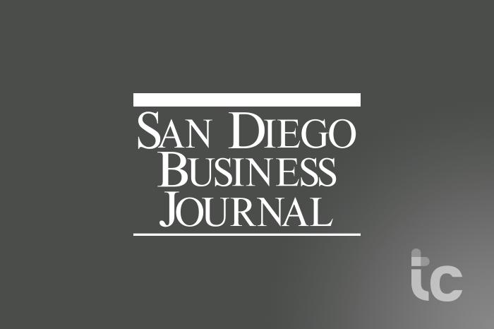 Logotipo del Diario de Negocios de San Diego